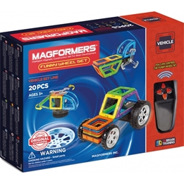 Magformers - Funny Wheel Set 20-Piece
