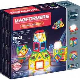 Magformers - Neon Led Set 31-Pieces