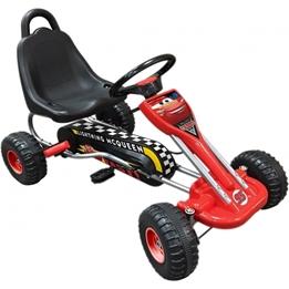 Disney - Go Kart Cars Röd / Svart 89 X 78 X 52 Cm