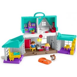 Fisher Price - Dockhus Little People House Handy Helpers