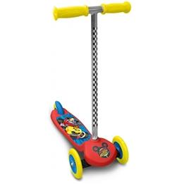 Disney - Sparkcykel - Mickey Mouse 3 Hjul Röd/Gul