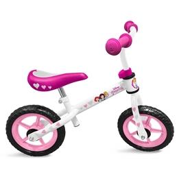 Disney - Balanscykel - Princess Loopfiets 12 Tum Vit/Rosa