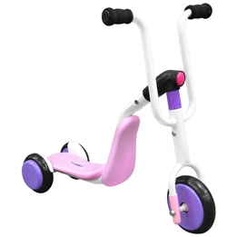 Stamp - Sparkcykel - 2-In-1 Tri-Scooter Step Rosa/Lila