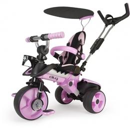Injusa - Trehjuling - City Trike Junior Rosa
