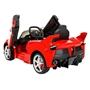 Runruntoys - Elbil - La Ferrari Elbil 12 Volt R / C Röd