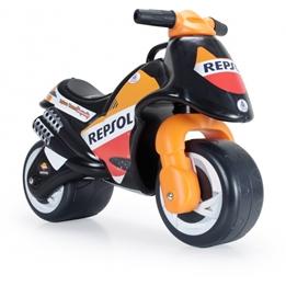 Injusa - Gåmotorcykel Neox Repsol 69 Cm Orange / Svart