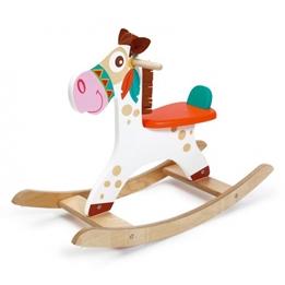 Scratch - Deco: Gunghäst Indian Pony