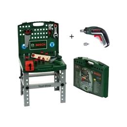 Klein - Bosch Workbench With Accessories + Ixolino Ii 34-Piece