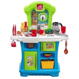 Step2 - Leksakskök Little Cooks Kitchen 86 Cm Blå