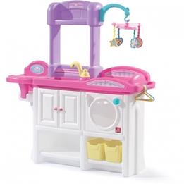 Step2 - Dresser Love & Care Deluxe Nursery Vit/Rosa 95 Cm