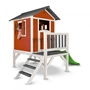 Sunny - Lodge Xl Lekstuga Röd/Vit 190 X 260 X 167 Cm