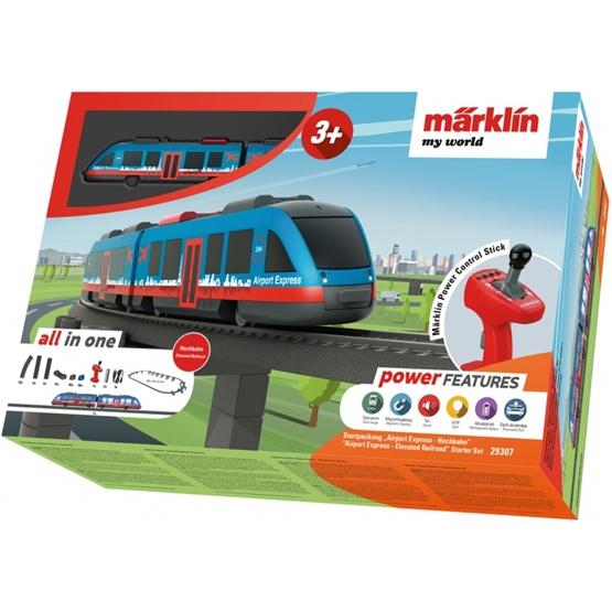 Marklin - Airport Express Take-Off Set Viaduct Railway