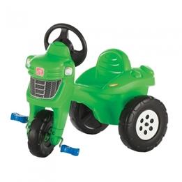 Step2 - Trampbil Traktor Grön