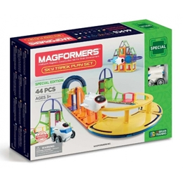 Magformers - Sky Track Play Set - 44 Pieces