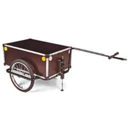 Roland - Cykelvagn / Lastvagn - Jumbo 20 Tum Brun