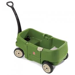 Step2 - Dragvagn 2 Persons Grön 108 Cm