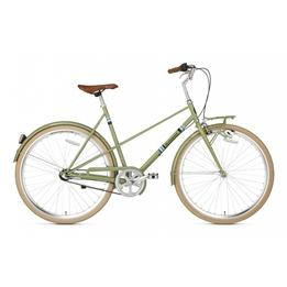 Popal - Damcykel - Capri N3 28 Inch 50 Cm 3 Växlar Grön