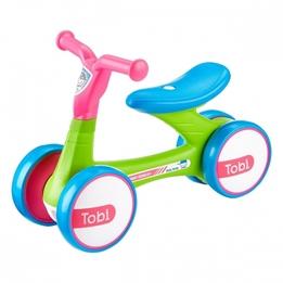 Milly Mally - Fyrhjuling - Loopfiets Tobi Junior Grön/Rosa