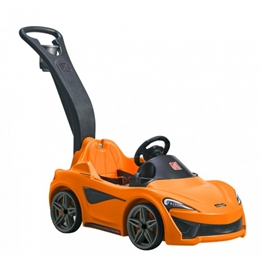 Step2 - Pushbil Mclaren 570 S 120 Cm Orange