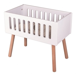 Byastrup - Doll Bed With Mattress Vit For Dolls Up To 50 Cm