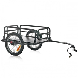 M-Wave - Cykelvagn / Lastvagn - Trailer Basismodel 16 Tum Svart