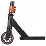 Stiga - Sparkcykel - Step Hood Junior Fotbroms Svart/Orange