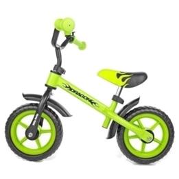 Milly Mally - Balanscykel - Dragon Grön