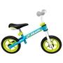 Skids Control - Balanscykel - Loopfiets 10 Tum Junior Ljusblå/Ljusgrön