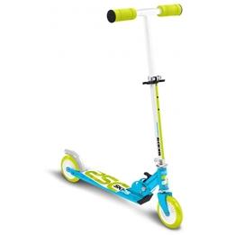 Skids Control - Sparkcykel - Vouwstep Junior Fotbroms Ljusblå