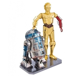 Metal Earth - Modellsats Star Wars R2D2 And C-3Po 3D