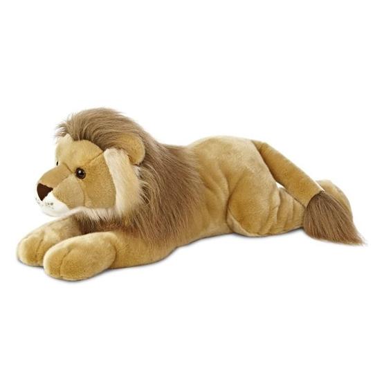 Aurora - Mjukisdjur - Lion Leo Super Flopsie 68,5 Cm Brun