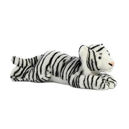Aurora - Mjukisdjur - Tiger Bengal Super Flopsie 68,5 Cm Vit