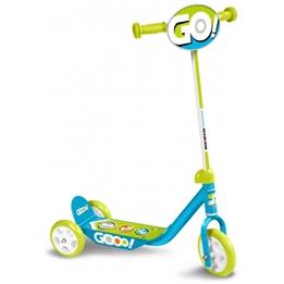 Skids Control - Sparkcykel - Gooo! Ljusblå/Ljusgrön
