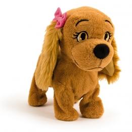 Imc - Hund Interactive Cuddly Dog Lucy 25 Cm Brun