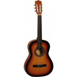 Gomez - Gitarr Classic vintage 6 Strings 93 Cm Brun