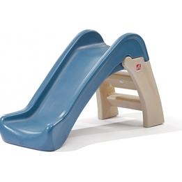 Step2 - Slide Play And Fold 110 Cm Brun/Blå