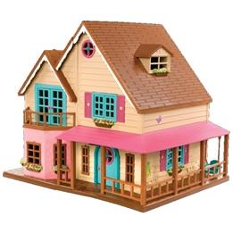 Lil Woodzeez - Dockskåp Hillside House 20 Delar