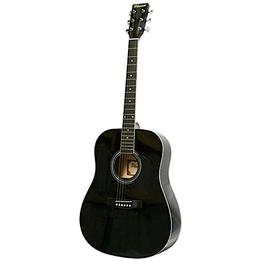 Phoenix - Gitarr Western 001 Dreadnought 105 Cm Svart