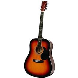 Phoenix - Gitarr Western 001 Vintage Dreadnought 105 Cm Brun