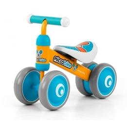 Milly Mally - Fyrhjuling - Loopfiets Micro Muis Junior Orange/Ljusblå
