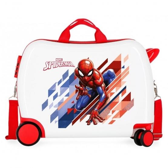 Marvel - Sparkbil Case Spider-Man 34 Liter Vit