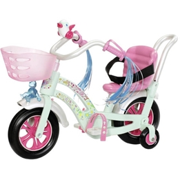 Baby Born - Doll'S Bike 43 Cm Grön/Rosa