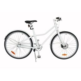 Tom - Barncykel - City Bike Deluxe 28 Inch 48 Cm 2 Växlar Vit