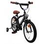 Amigo - BMX Cykel - Bmx Fun 16 Tum Matte Svart