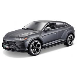 Bburago - Bil Modellbil (2018 Lamborghini Urus) 1:18 Grå