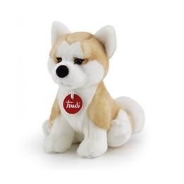 Trudi - Gosedjur Hund Akita Ascanio 31 Cm Brun/Vit