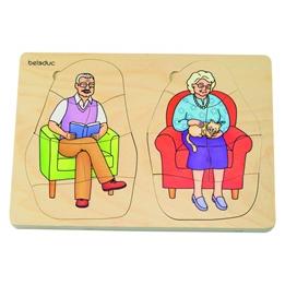 Beleduc - Pussel Grandpa And Grandma 40 Pieces