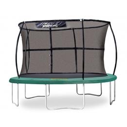 Jumpking - Studsmatta Med Skyddsnät 366 Cm Grön