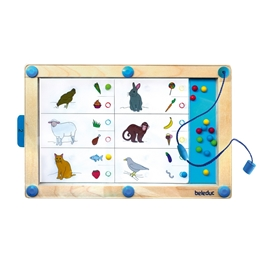 Beleduc - Magnetic Game Logiplay 19-Piece