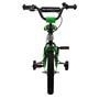 Amigo - BMX Cykel - Bmx Fun 14 Tum Grön/Matte Svart